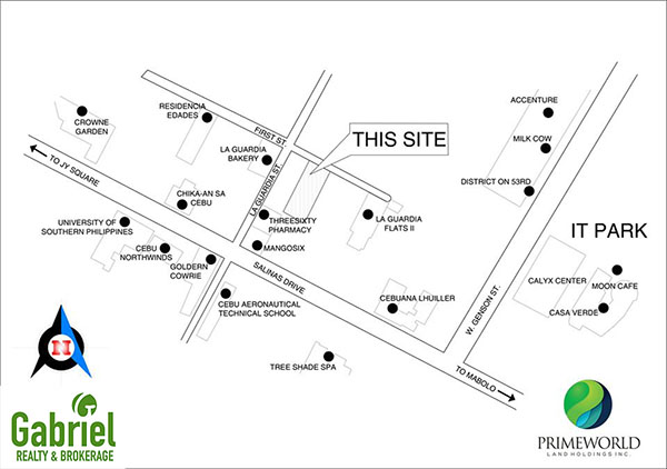 condo's strategic location in Cebu IT Park