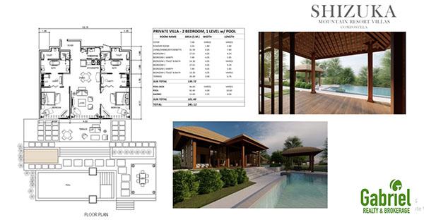 2 bedroom private villas