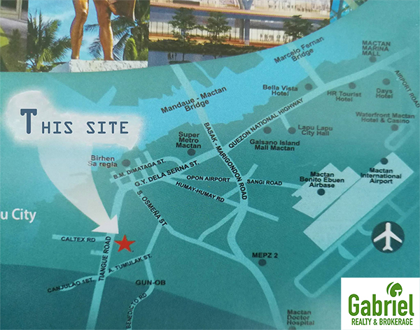 the location is very accessible to mactan-cebu international airport