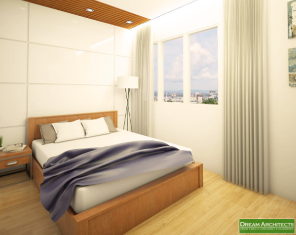 bedroom lay out