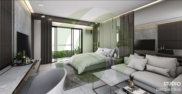 studio floor lay out in be residences