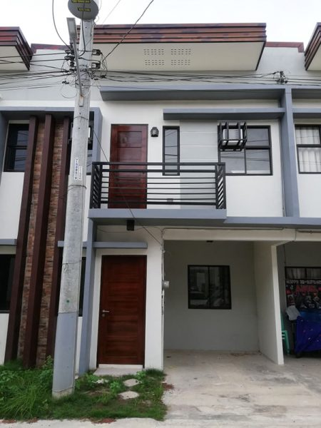 ready for occupancy tonwhouse for sale in woodway townhomes talisay