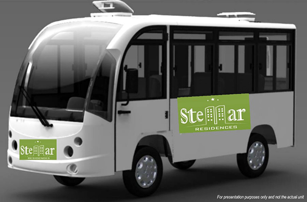 free shuttle bus of stellar residences