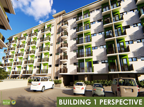 building 1 perspective of stellar residences mactan