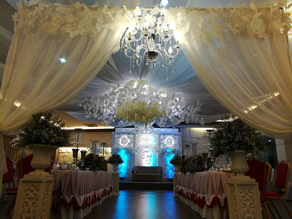 luxurious function room for multiple events