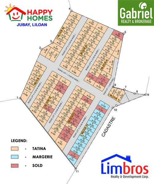 site development plan of happy homes liloan