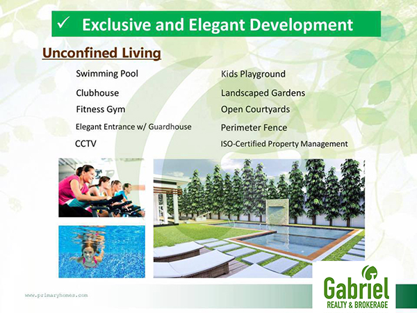 featured amenities in the condominium