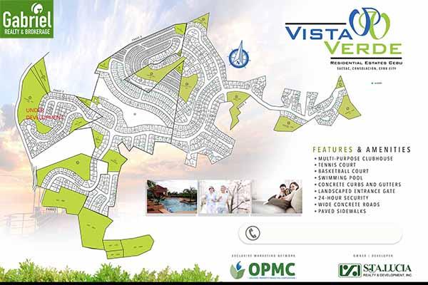 site development plan of vista verde cebu