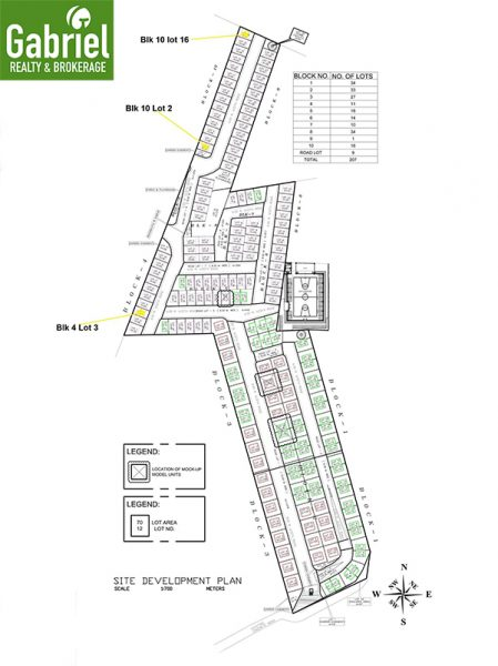 subdivision master plan in fontana heights