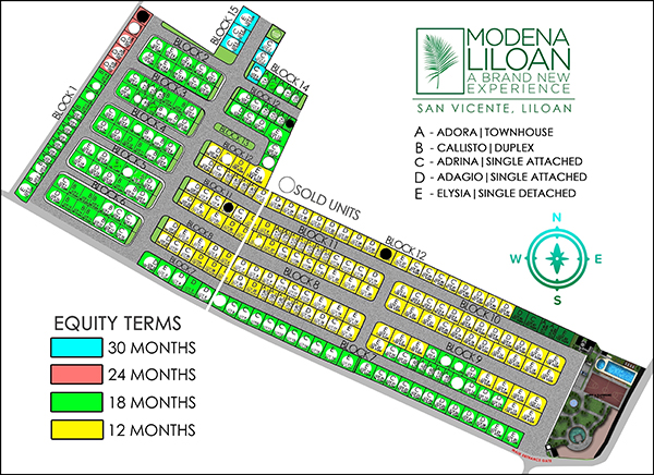 availability and lot map