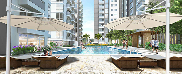 swimming pool of paseo grove mactan condominium