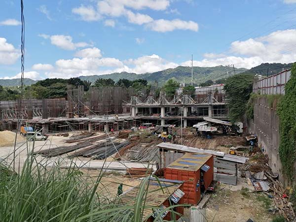 construction update of 128 Nivel Hills