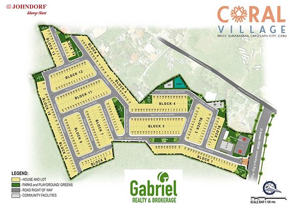 coral village mactan site development plan