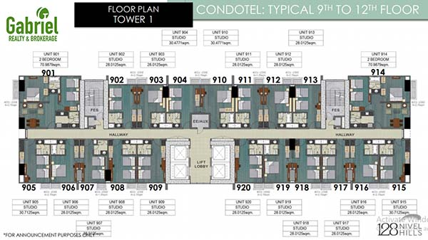 condotel floor plan 2