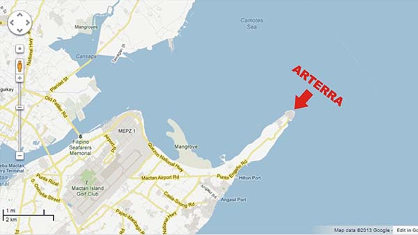 arterra residences at discovery bay vicinity map