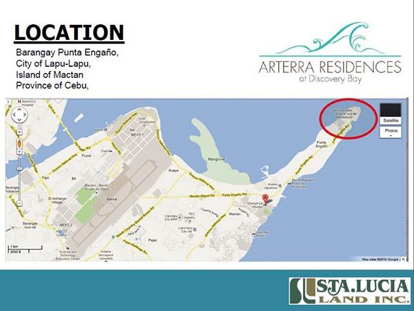 arterra residences mactan location