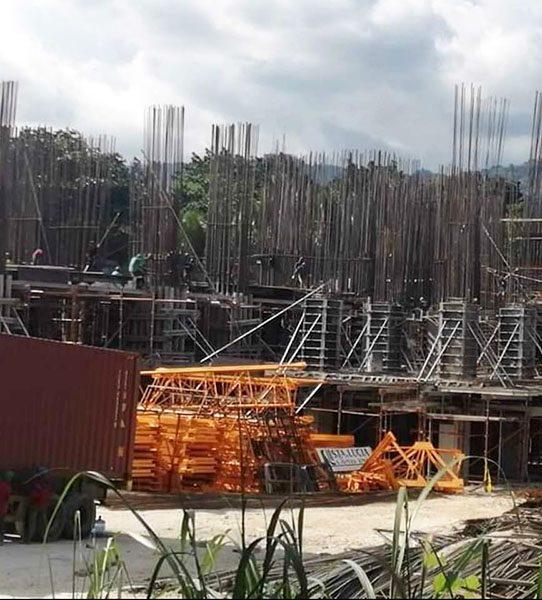 construction update of 128 nivel hills cebu