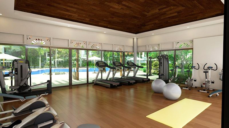 gym as one of the amenities in the condominium