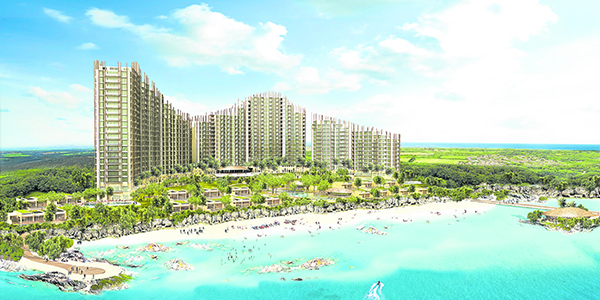 the 5.2 hectare Aruga Resort and Residences - Mactan