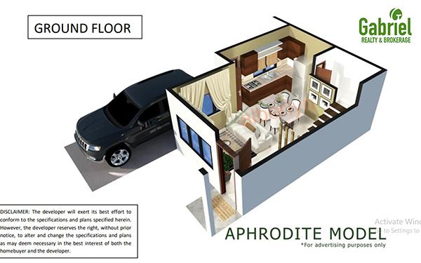aphrodite model ground floor plan