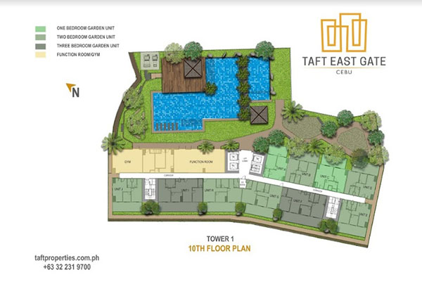 taft east gate building floor plan