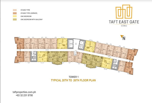 taft east gate building plan