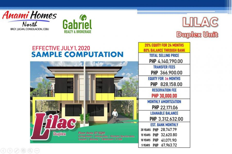 duplex house for sale in consolacion