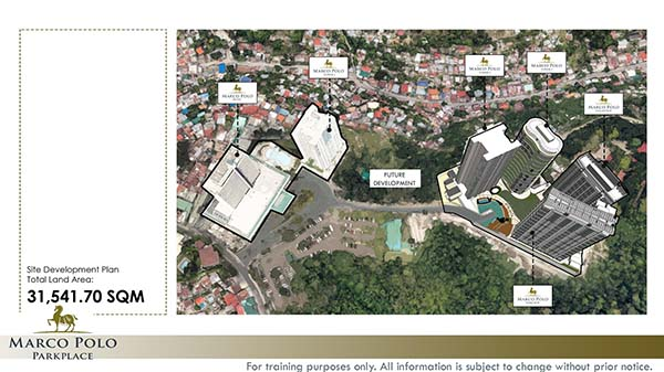 marco polo residences development plan