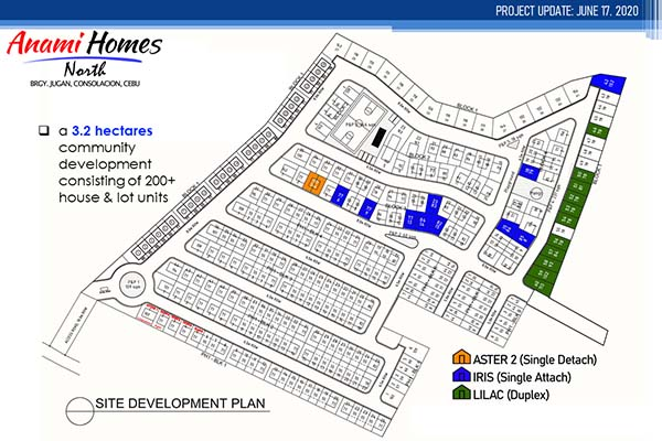 anami homes site development plan availability