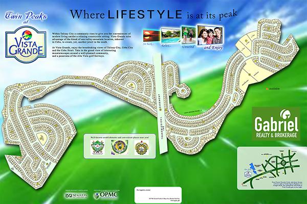 site development plan of vista grande cebu