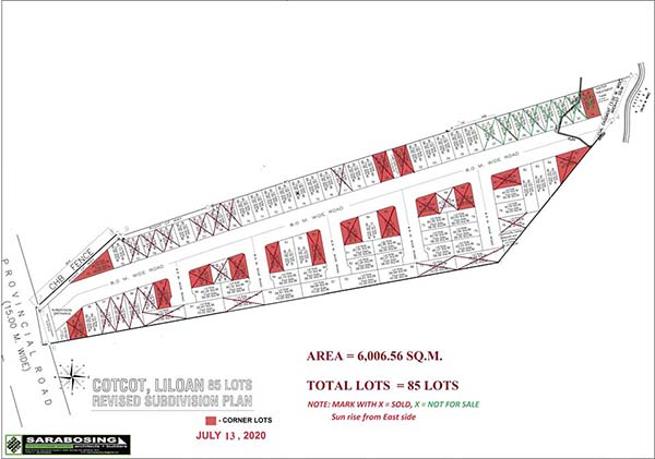 site development plan of robins lane