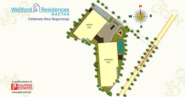 site development plan of wellford residences mactan