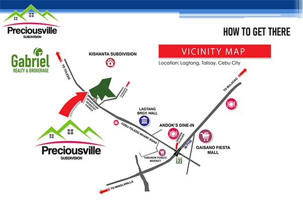 location of preciousville talisay