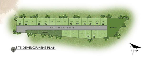site development plan of woodland park