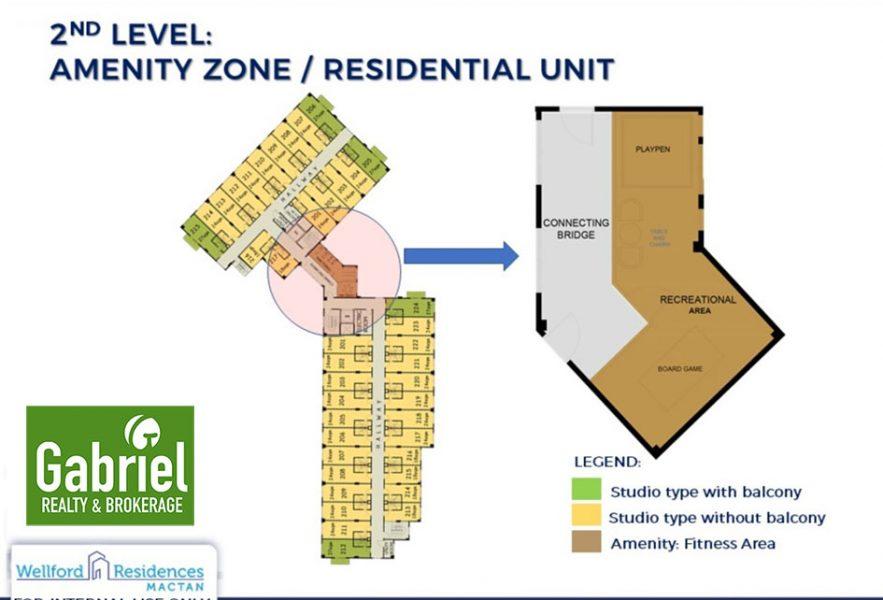 wellford residences amenity floor plan