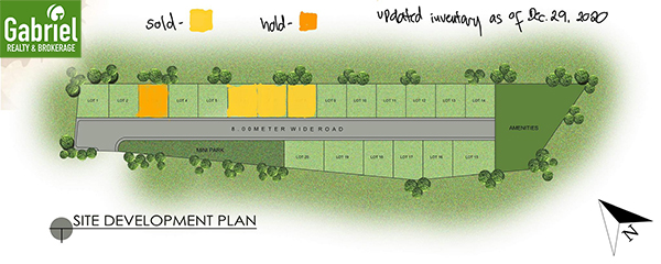 site development plan of woodland park residences