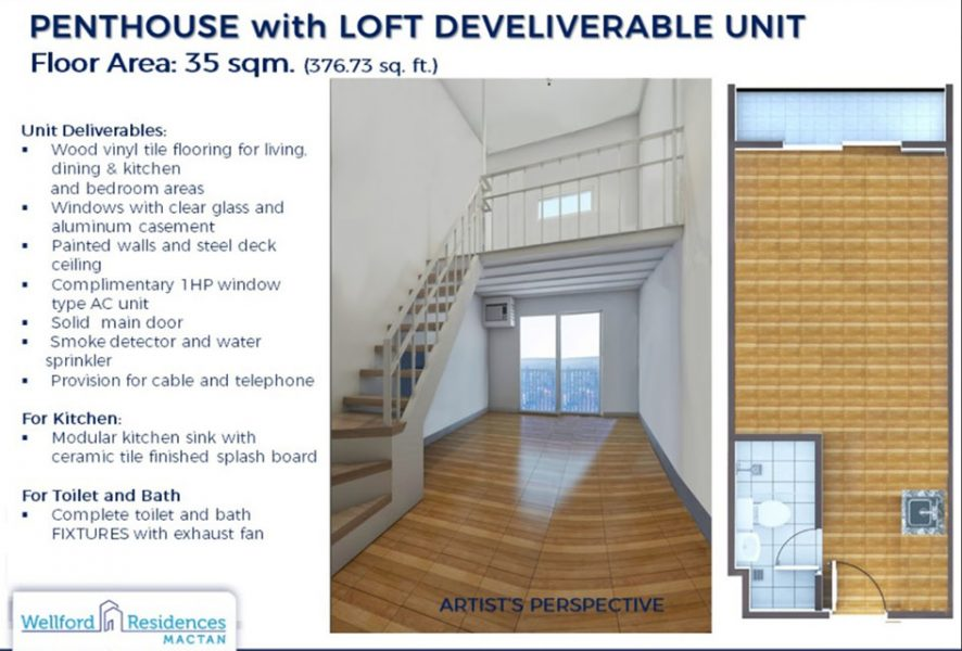 penthouse in wellford residences mactan