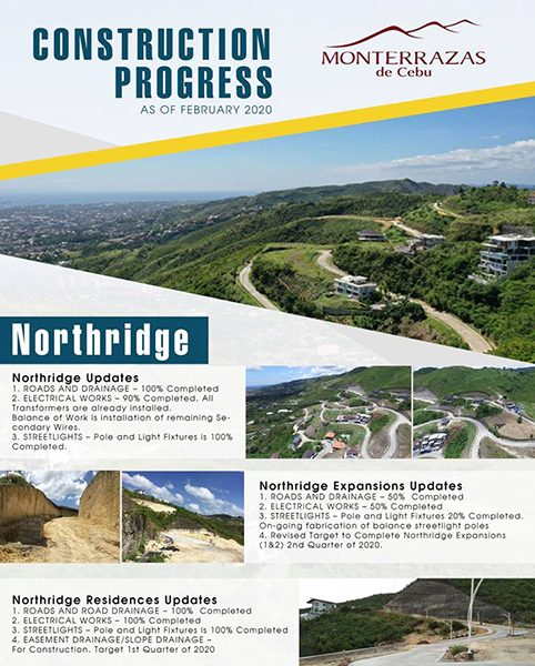 NorthRidge construction update