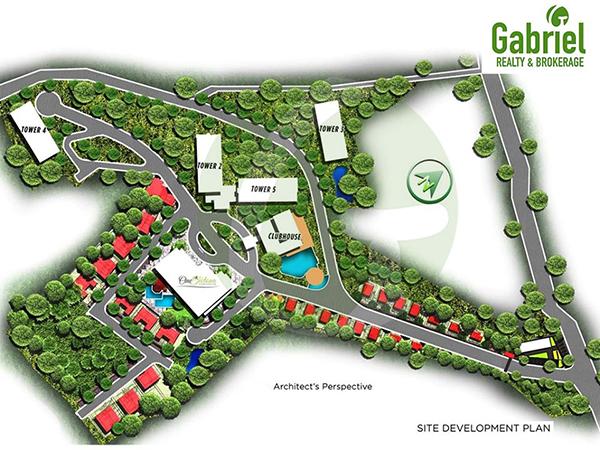 site development plan of woodland park residences annex