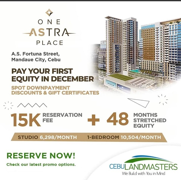 one astra place september promo