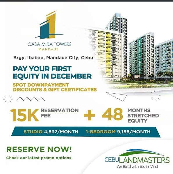 Casa Mira Towers Mandaue september promo