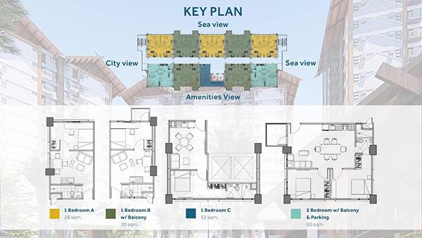 royal oceancrest key plan