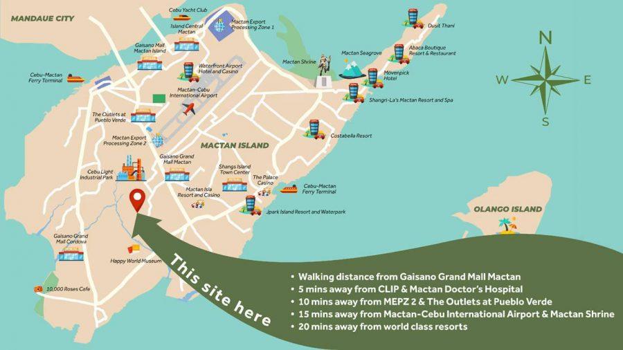 royal oceancrest mactan vicinity map