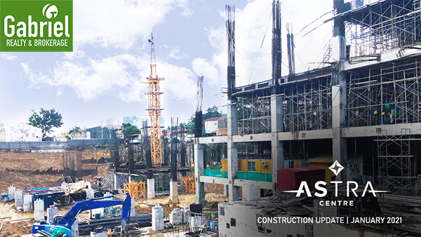 construction update of astra centre