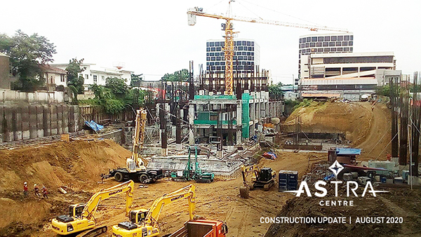 august construction update of one astra place cebu