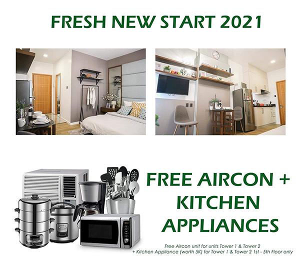 antara's promo of free airon and kitchen appliances