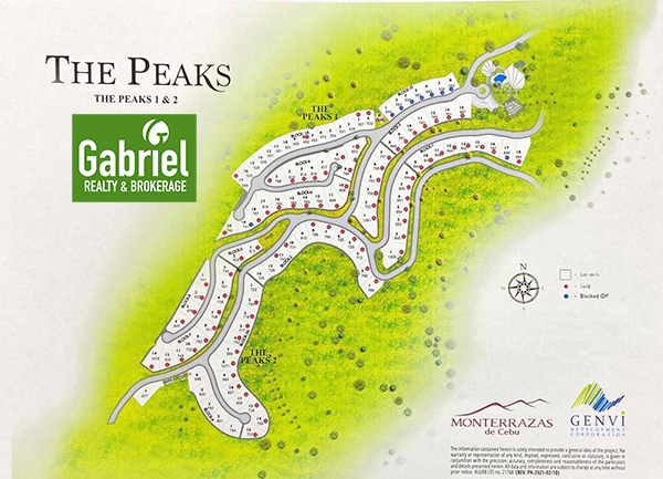 latest inventory of monterrazas de cebu the peaks phase