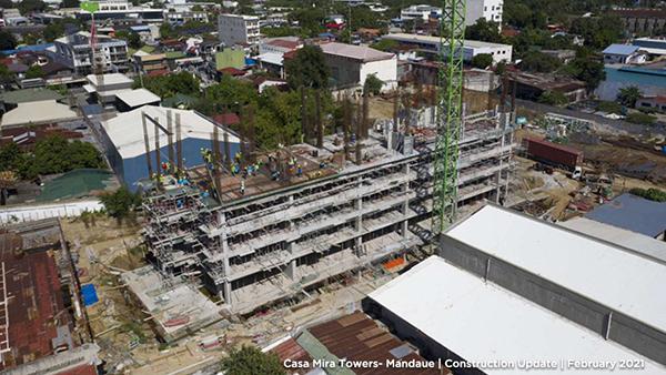 casa mira towers construction update
