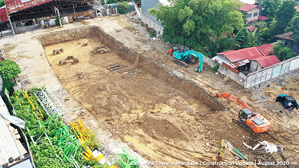 casa mira towers mandaue construction update