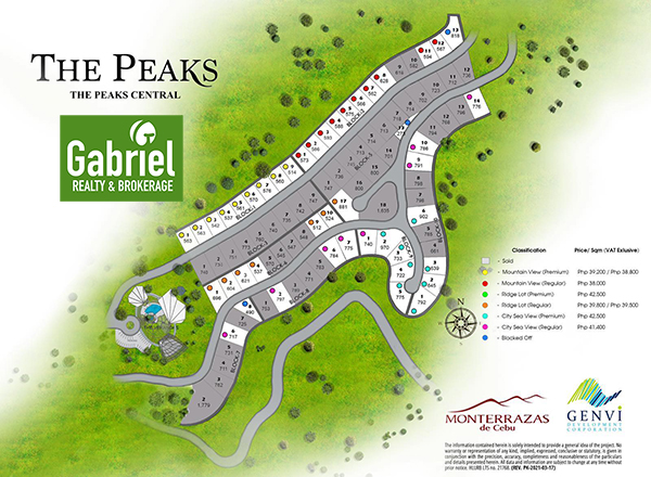 The Peaks Central availability, monterrazas de cebu
